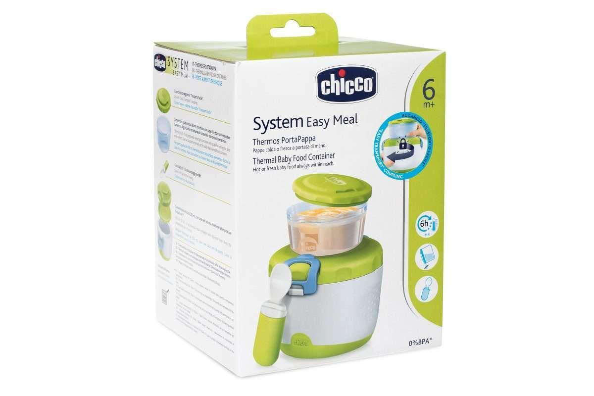 Chicco Isolierter Beh/älter f/ür Babynahrung SYSTEM 6m+